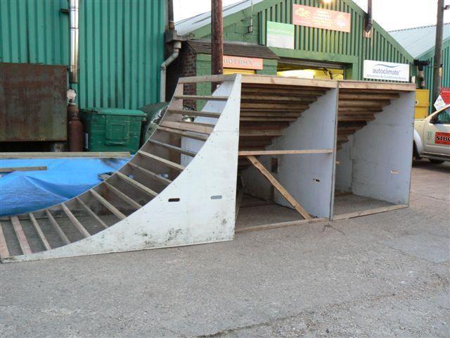 how to build a box jump bmx